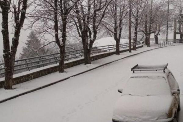 Ο χιονιάς