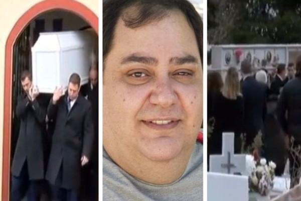 Σπαραγμός και οδύνη στην κηδεία του Βαγγέλη Ρωμνιού: Η μεγάλη αποκάλυψη του πατέρα του! (video)