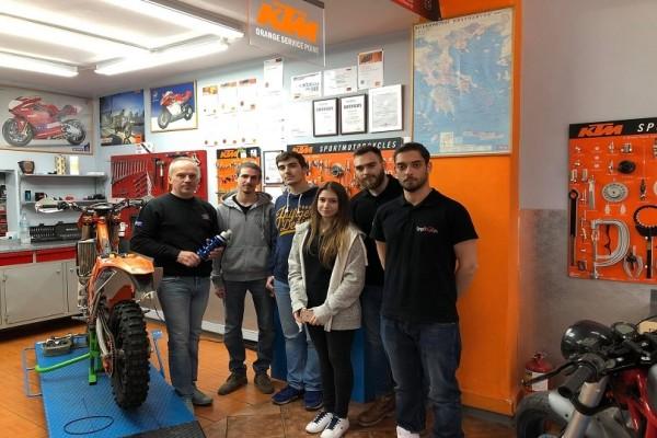Απίστευτη καινοτομία: Αυτή είναι η πρώτη ελληνική μοτοσικλέτα που δημιούργησαν φοιτητές!
