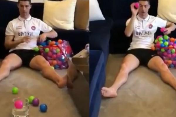 Η απίστευτη και έντονη προετοιμασία του Ρονάλντο πριν τους αγώνες (video)