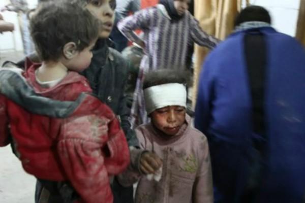 Προσοχή σκληρές εικόνες: Συνεχίζεται το μακελειό στη Συρία παρά το ψήφισμα για εκεχειρία!
