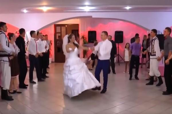 Ξέφρενο γαμήλιο γλέντι στην Μολδαβία… για να