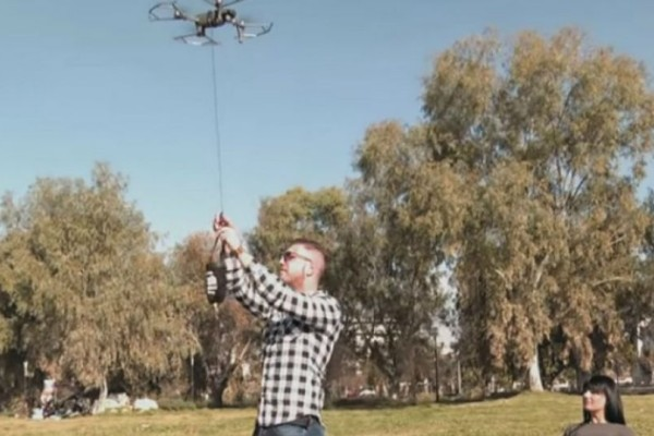 Το είδαμε και αυτό:Delivery με drone στην Πάτρα! (βίντεο)