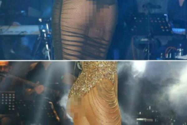 Πιο καυτή από πότε! Γνωστή τραγουδίστρια εμφανίστηκε έτσι στην πρεμιέρα της (Photos)