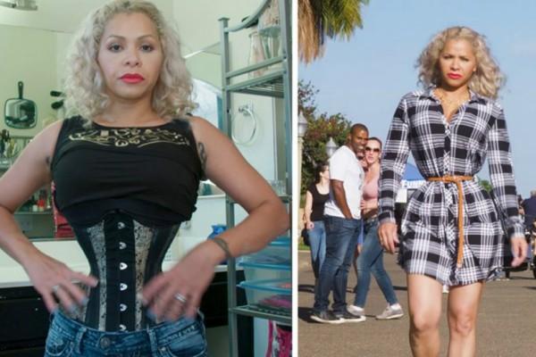 Ανατριχιαστικό: Αμερικανίδα φοράει για 23 ώρες κορσέ και έχει αδιανόητα λεπτή μέση!