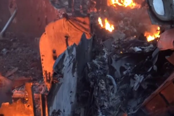 Καταρρίφθηκε ρωσικό αεροσκάφος στη Συρία: Νεκρός ο πιλότος! (video)