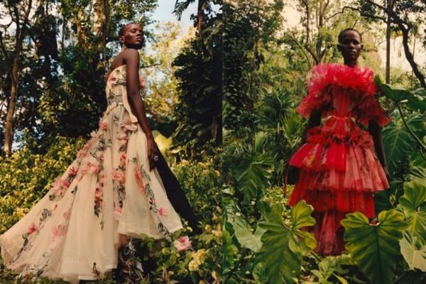 H νέα καμπάνια του οίκου Alexander McQueen μας ταξιδεύει στη ζούγκλα