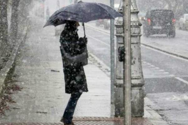 Η «Ιοκάστη» ετοιμάζεται να σαρώσει ολόκληρη την χώρα το Σαββατοκύριακο: Ισχυρές βροχοπτώσεις, καταιγίδες και χιόνια!