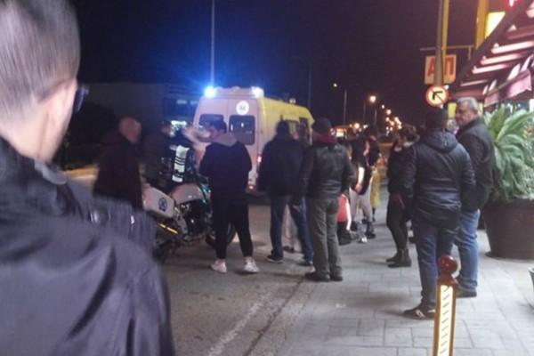 Τραγωδία:Μοτοσικλέτα παρέσυρε έγκυο στην Αθηνών - Πατρών!