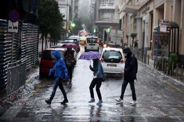 Έντονη κακοκαιρία αναμένεται και σήμερα Παρασκευή! - Βροχές και καταιγίδες σε όλη την χώρα!