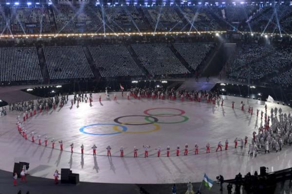 Οι πρώτες εικόνες από την Τελετή Εναρξης των Χειμερινών Ολυμπιακών 2018!