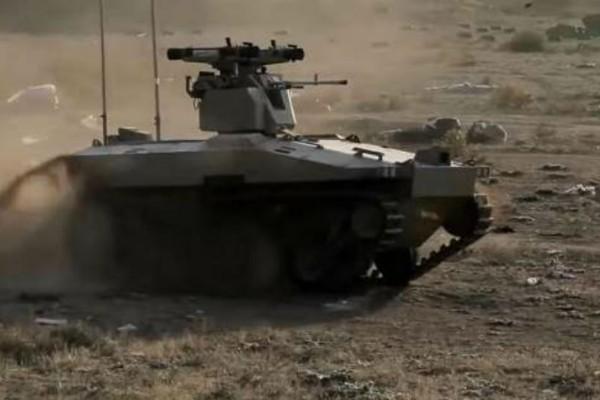Νέο ρομποτικό τανκ δοκίμασε η Ρωσία στη Συρία!