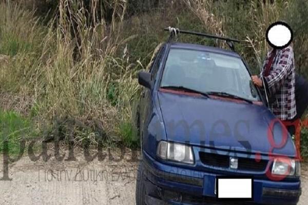 Απίστευτο περιστατικό στη Πάτρα: Οδηγός μέθυσε και... έπεσε στο ποτάμι με το αμάξι του!
