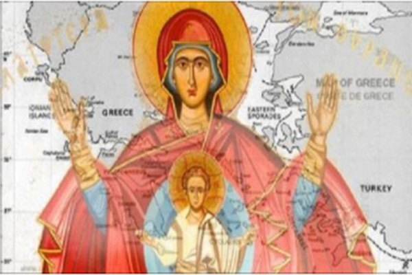 Δέος: Φοβερό όραμα για την Ελλάδα, με την Παναγία μας γονατιστή μπροστά στον Χριστό, που συγκλονίζει!
