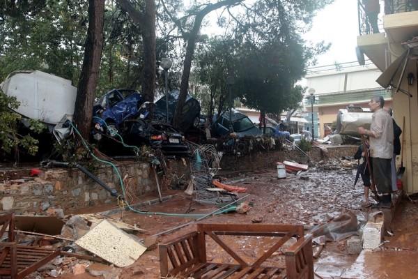 Απολογισμός για τις πλημμύρες στην Αττική - Ξεκινούν οι εργασίες στην παλαιά Ε.Ο. Αθηνών – Θηβών