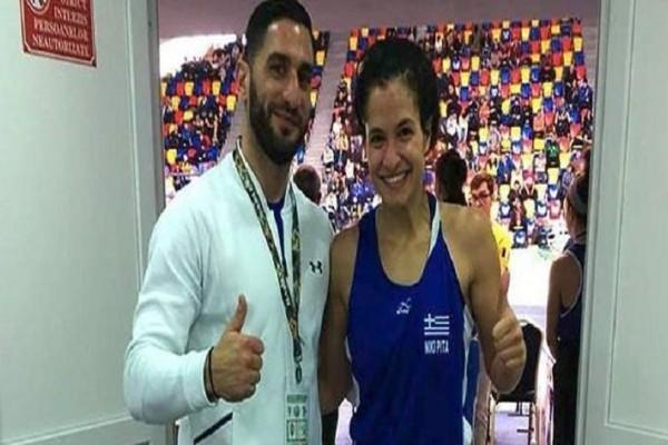 Χάλκινο μετάλλιο η Νικολέτα Πίτα στο Ευρωπαϊκό πυγμαχίας U22!
