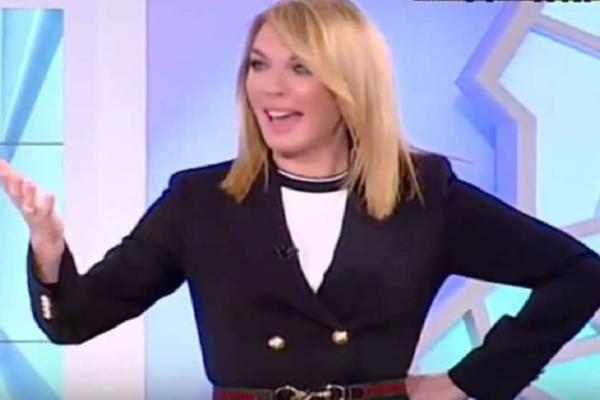 Τατιάνα Στεφανίδου: Το «μαύρο» στο κανάλι και η απίστευτη αντίδραση της παρουσιάστριας! (Video)