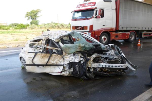Τραγωδία στην Καλαμάτα: Σκοτώθηκε σε τροχαίο μπροστά στα μάτια του άνδρα της!