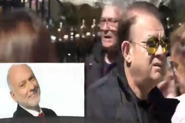 Σπάραξαν καρδιές στην κηδεία του Χρήστου Σιμαρδάνη: Ποιοι επώνυμοι έδωσαν το παρόν; (video)