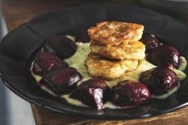 Μια εναλλακτική συνταγή: Λουκουμάδες μπακαλιάρου με αλιάδα και ψητά παντζάρια!