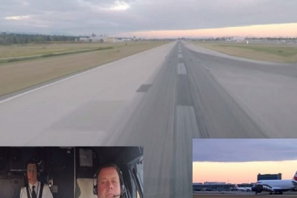 Απίστευτο βίντεο: Έτσι βιώνει ο πιλότος την διαδικασία της προσγείωσης! (Video)