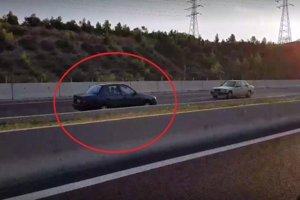 Συναγερμός στους δρόμους: Οδηγός κατευθυνόταν στο αντίθετο ρεύμα της εθνικής οδού Θεσσαλονίκης – Ν. Μουδανιών για 40 χλμ!