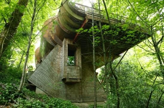Ένα πολυτελές σπίτι στη μέση του δάσους! Μόλις δείτε εικόνες από το εσωτερικό του θα πάθετε