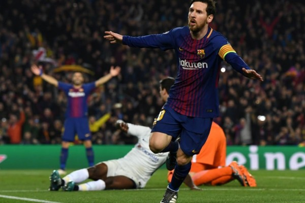 Champions League: Μαγεία Μέσι, πρόκριση για Μπάρτσα!