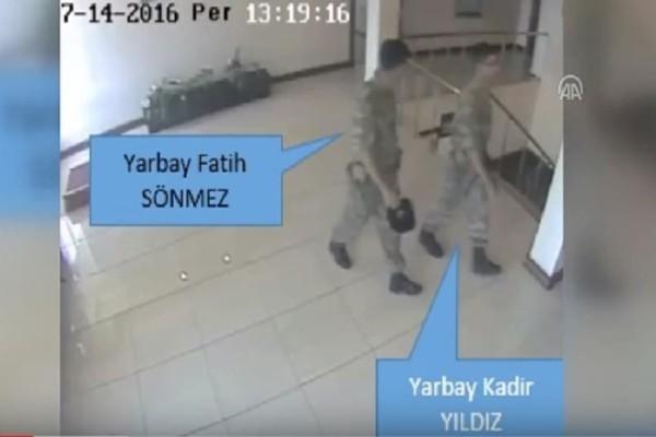 Βίντεο - ντοκουμέντο με τους 8 Τούρκους αξιωματικούς που ζήτησαν άσυλο στην Ελλάδα