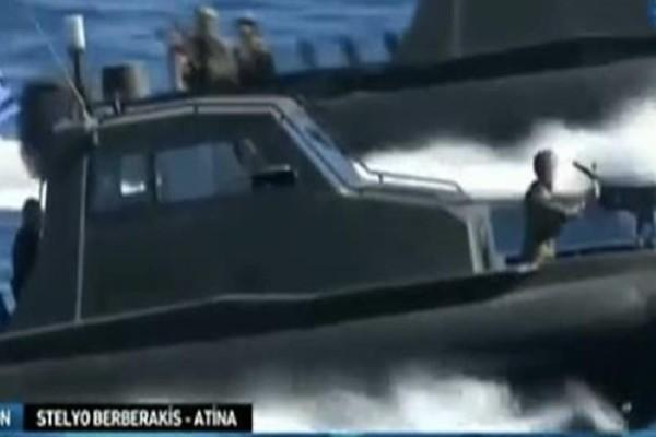 Δεν έχουν τέλος οι τουρκικές προκλήσεις: Κανάλι παρουσίασε ελληνική στρατιωτική άσκηση ως ανακατάληψη των Ιμίων!