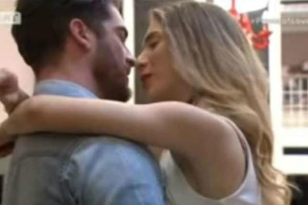 Power of Love: Φιλιά στο στόμα για τον Δώρο και την Αθηνά μετά τον καυγά τους! (video)