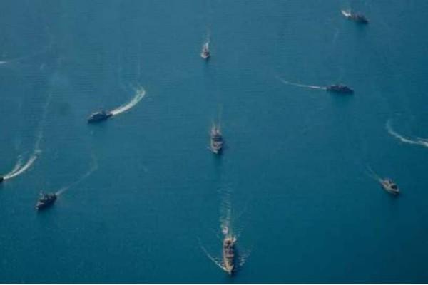 Πολυεθνική ναυτική άσκηση στο Ιόνιο -Εντυπωσιακές εικόνες