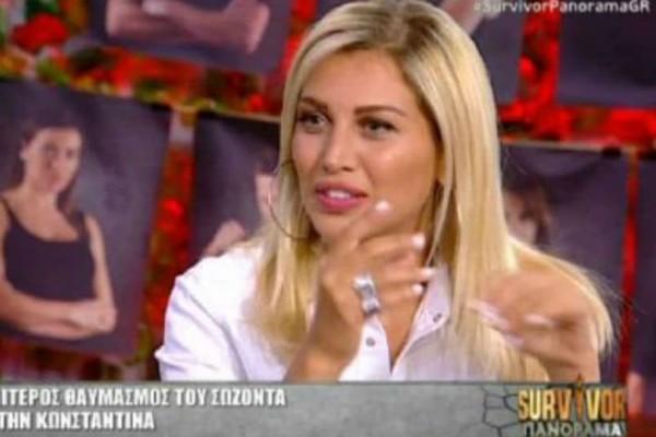 Survivor Panorama: Η Σπυροπούλου αποκαλύπτει πως και πότε γνωρίστηκαν με τον Χάρο! Την φλέρταρε από παλιά;