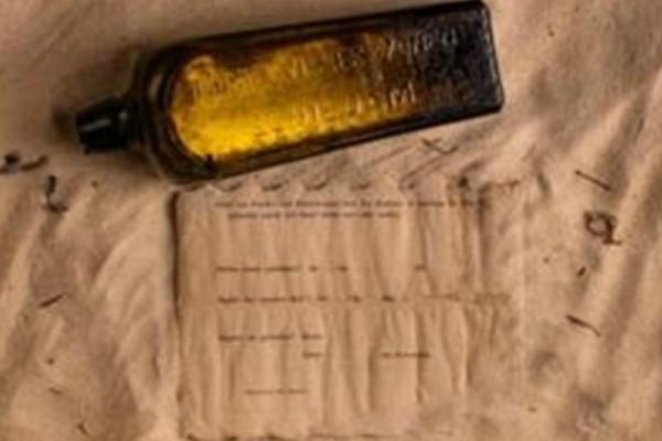 Απίστευτο: Βρέθηκε σε παραλία το πιο παλιό μήνυμα σε μπουκάλι ηλικίας 132 ετών