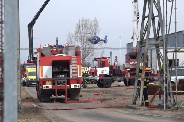 Φονική έκρηξη σε εργοστάσιο χημικών στην Τσεχία με 6 νεκρούς