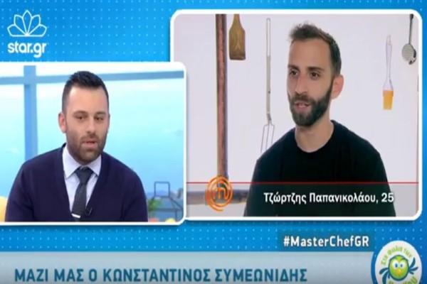 Master Chef: Ο Κωνσταντίνος μιλάει πρώτη φορά για την αποχώρησή του και απαντά για τα αιχμηρά σχόλια του Τζώρτζη! (video)