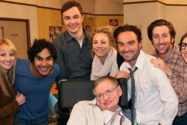 Το συγκινητικό αντίο του The Bing Bang Theory στο Στίβεν Χόκινγκ!