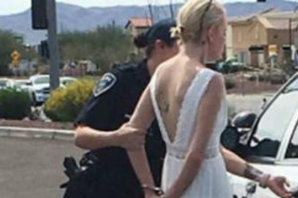 Απίστευτο: Νύφη πήγαινε στον γάμο της και..συνελήφθη! (Photo)