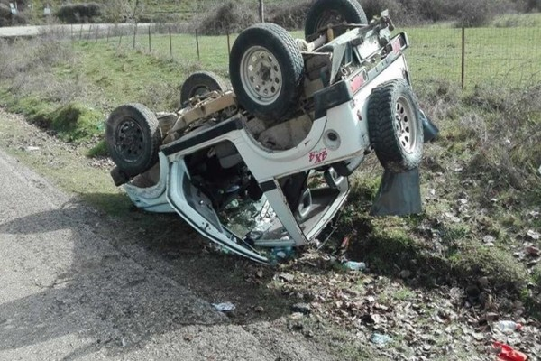 Νέο τροχαίο σοκάρει το Πανελλήνιο: Νεκρός οδηγός τζιπ!