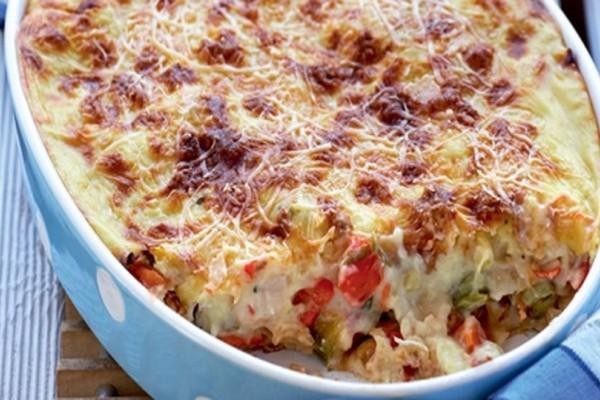 Η συνταγή της ημέρας: Παστίτσιο με κοτόπουλο και λαχανικά!