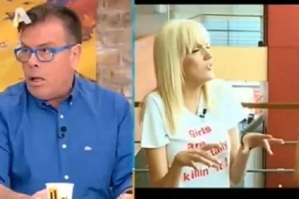 Έξαλλος ο Δημήτρης Παπανώτας με τη Σάσα Σταμάτη! Η ερώτηση περί ομοφυλοφιλίας στον Μέμο Μπεγνή που τον έβγαλε από τα ρούχα του!