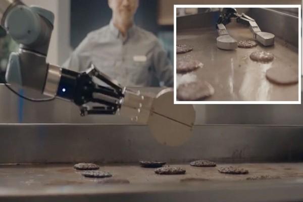 Απίστευτο και όμως αληθινό: Το πρώτο ρομπότ-ψήστης είναι γεγονός! (Video)
