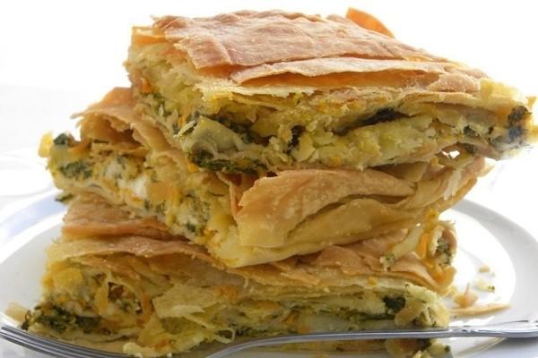 Μία υπέροχη συνταγή: Πεντανόστιμη πίτα με σπανάκι, κολοκύθα και φέτα!