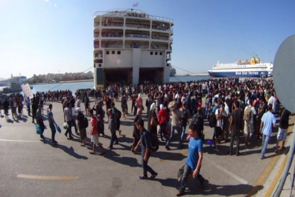 Αναχώρησαν 178 πρόσφυγες για τον Πειραιά από την Μυτιλήνη!