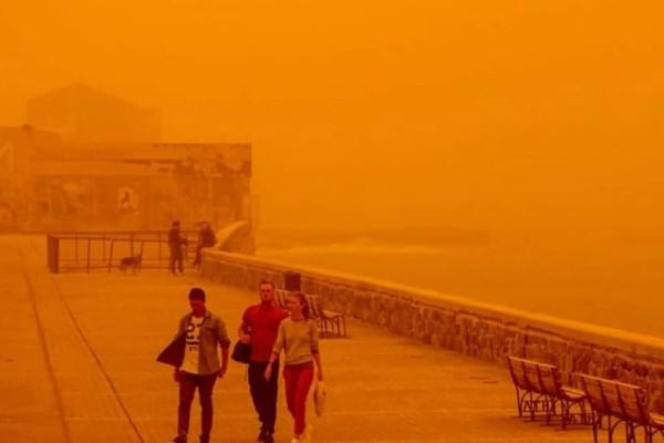 Χαμός σήμερα: Επιστρέφει σήμερα ο «εφιάλτης» της αφρικανικής σκόνης!