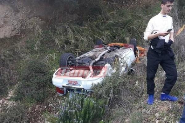 Σοκ στην Αχαϊα: Ατύχημα στο 40ο Ράλι – Σε χαράδρα οδηγός!