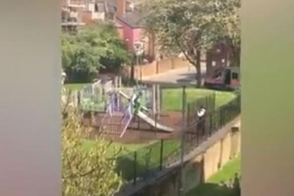 Ξεκαρδιστικό βίντεο: Αστυνομικοί γίνονται και πάλι... παιδιά!