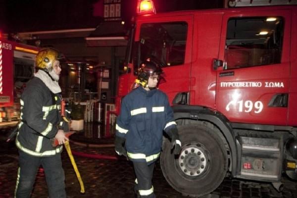 Επεισοδιακή νύχτα στα Χανιά: Πυρκαγιά έκαψε ολοσχερώς διαμέρισμα!