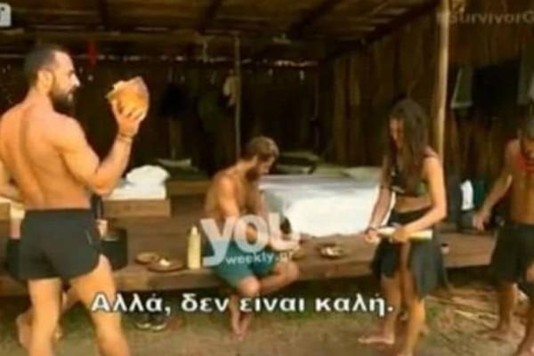 Survivor 2: Η ομάδα των Διασήμων δεν αντέχει τον Σώζων Παλαίστρο Χάρο! «Το καλαμάκι σου λείπει...» (video)
