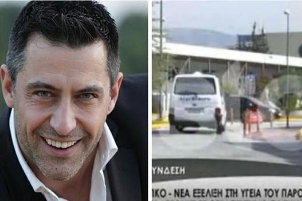 Κωνσταντίνος Αγγελίδης: Το εξιτήριο του παρουσιαστή και τα πρώτα πλάνα από το νοσοκομείο! (video)